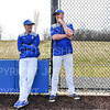 Hamilton College head coach Tim Byrnes, Hamilton College assistant coach Nolan Driscoll<br /> <br /> 4/12/19 3:15:56 PM Baseball: Amherst College v Hamilton College at Loop Road Baseball/Softball Complex, Hamilton College, Clinton, NY<br /> <br /> Final:  Amherst 10   Hamilton 18<br /> <br /> Photo by Josh McKee