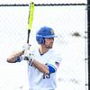 Hamilton College first baseman Graham McOsker (19)<br /> <br /> 3/14/19 4:25:13 PM Baseball: Southern Vermont v Hamilton College at Loop Road Baseball/Softball Complex, Hamilton College, Clinton, NY<br /> <br /> Final: Southern Vermont 3   Hamilton 5<br /> <br /> Photo by Josh McKee