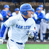 Hamilton College outfielder Rich Marooney (5)<br /> <br /> 3/14/19 4:21:31 PM Baseball: Southern Vermont v Hamilton College at Loop Road Baseball/Softball Complex, Hamilton College, Clinton, NY<br /> <br /> Final: Southern Vermont 3   Hamilton 5<br /> <br /> Photo by Josh McKee