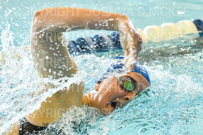 12/1/18 10:40:47 AM Swimming and Diving:  Hamilton College Invitational at Bristol Pool, Hamilton College, Clinton, NY <br /> <br /> Photo by Josh McKee