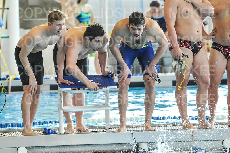 12/1/18 1:04:43 PM Swimming and Diving:  Hamilton College Invitational at Bristol Pool, Hamilton College, Clinton, NY <br /> <br /> Photo by Josh McKee