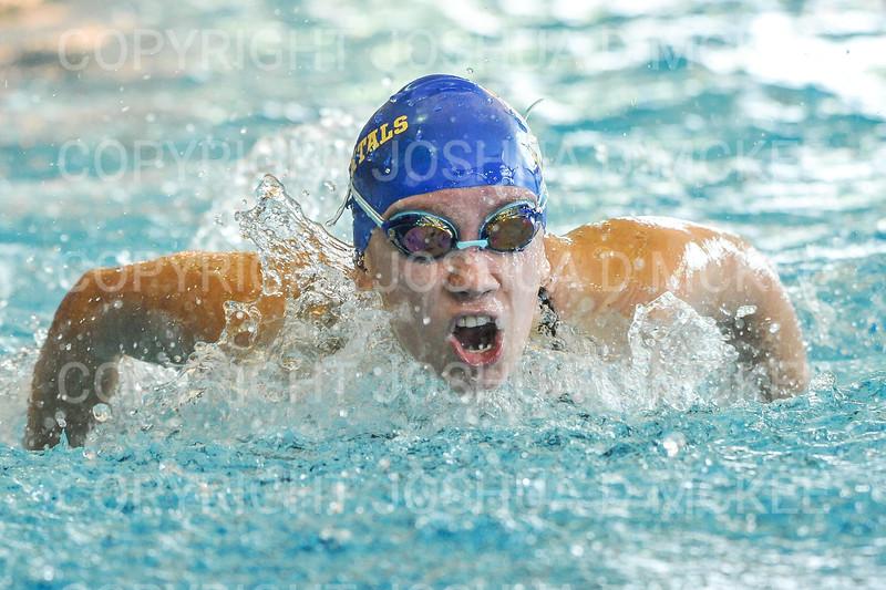 12/1/18 10:43:43 AM Swimming and Diving:  Hamilton College Invitational at Bristol Pool, Hamilton College, Clinton, NY <br /> <br /> Photo by Josh McKee