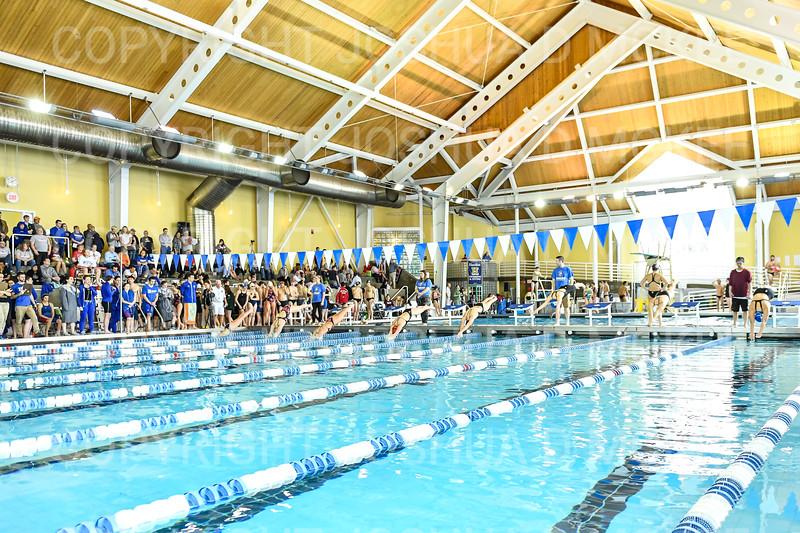 12/1/18 11:49:13 AM Swimming and Diving:  Hamilton College Invitational at Bristol Pool, Hamilton College, Clinton, NY <br /> <br /> Photo by Josh McKee