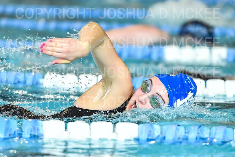12/1/18 11:43:25 AM Swimming and Diving:  Hamilton College Invitational at Bristol Pool, Hamilton College, Clinton, NY <br /> <br /> Photo by Josh McKee