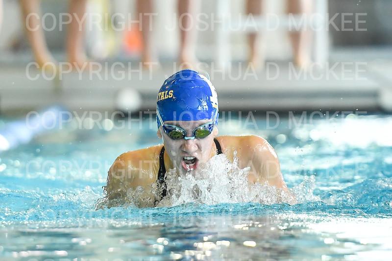 12/1/18 12:51:31 PM Swimming and Diving:  Hamilton College Invitational at Bristol Pool, Hamilton College, Clinton, NY <br /> <br /> Photo by Josh McKee