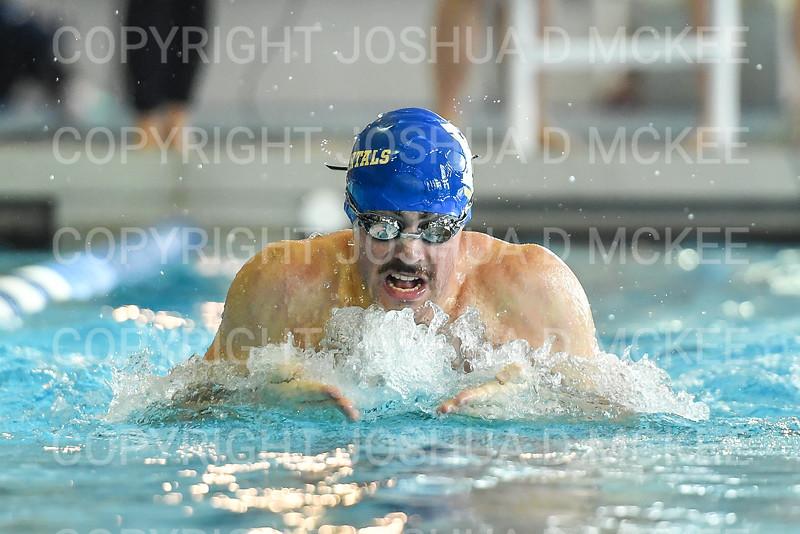 12/1/18 1:02:23 PM Swimming and Diving:  Hamilton College Invitational at Bristol Pool, Hamilton College, Clinton, NY <br /> <br /> Photo by Josh McKee
