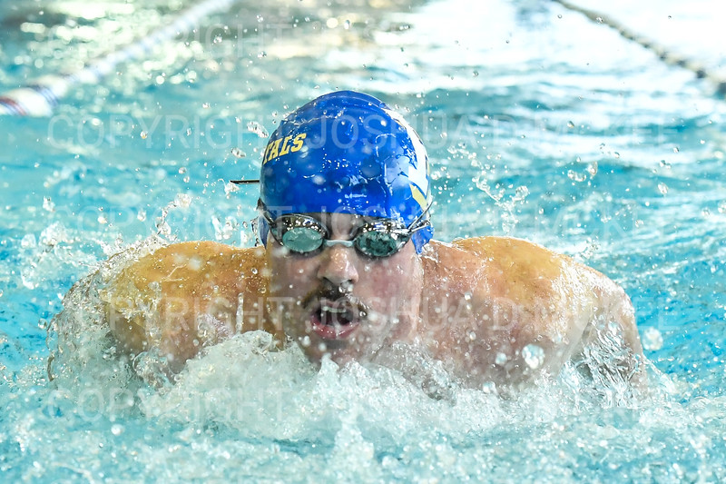 12/1/18 11:01:38 AM Swimming and Diving:  Hamilton College Invitational at Bristol Pool, Hamilton College, Clinton, NY <br /> <br /> Photo by Josh McKee