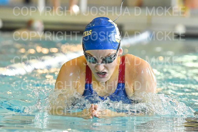 12/1/18 10:33:36 AM Swimming and Diving:  Hamilton College Invitational at Bristol Pool, Hamilton College, Clinton, NY <br /> <br /> Photo by Josh McKee