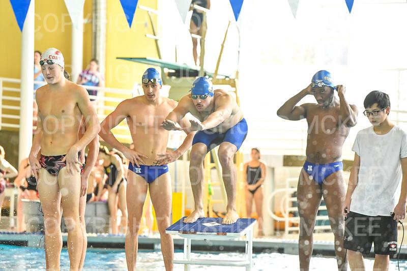 12/1/18 10:21:45 AM Swimming and Diving:  Hamilton College Invitational at Bristol Pool, Hamilton College, Clinton, NY <br /> <br /> Photo by Josh McKee