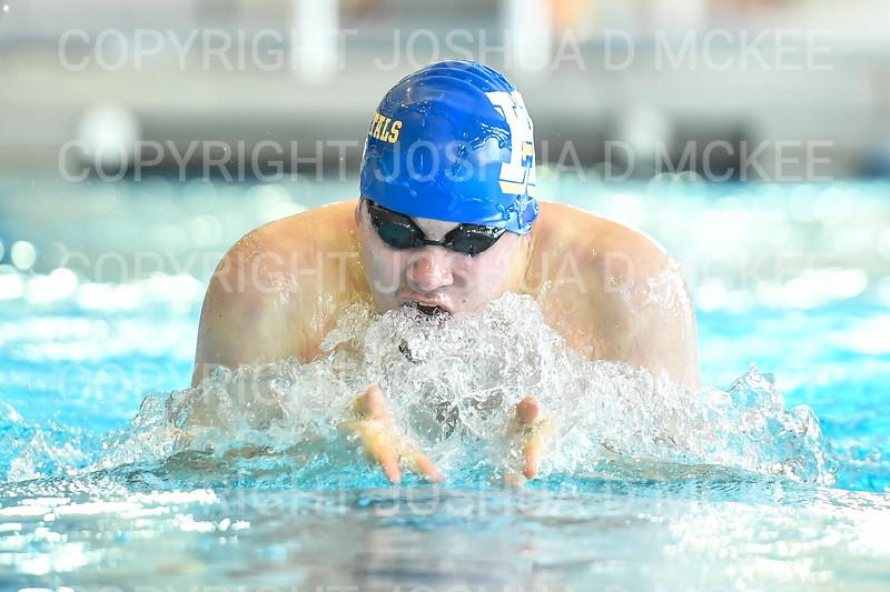 12/1/18 12:22:45 PM Swimming and Diving:  Hamilton College Invitational at Bristol Pool, Hamilton College, Clinton, NY <br /> <br /> Photo by Josh McKee