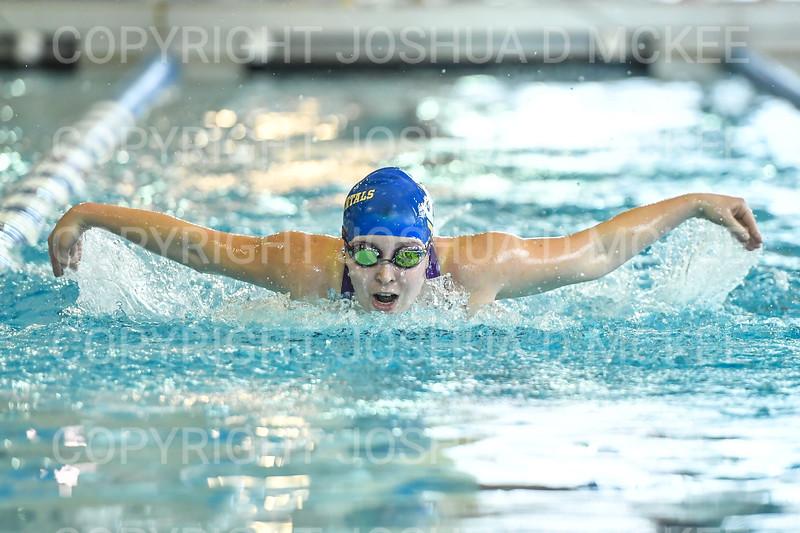 12/1/18 11:18:10 AM Swimming and Diving:  Hamilton College Invitational at Bristol Pool, Hamilton College, Clinton, NY <br /> <br /> Photo by Josh McKee