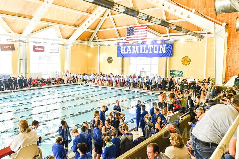 12/1/18 9:57:33 AM Swimming and Diving:  Hamilton College Invitational at Bristol Pool, Hamilton College, Clinton, NY <br /> <br /> Photo by Josh McKee
