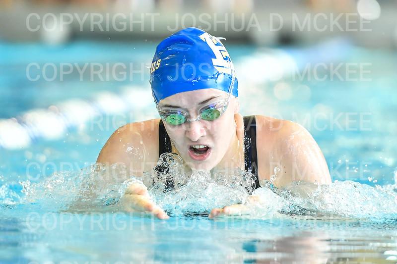 12/1/18 12:44:57 PM Swimming and Diving:  Hamilton College Invitational at Bristol Pool, Hamilton College, Clinton, NY <br /> <br /> Photo by Josh McKee