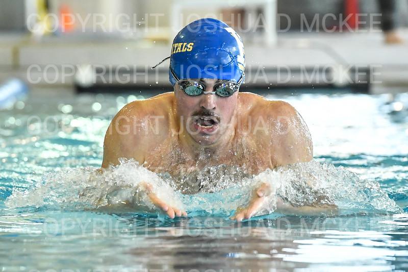 12/1/18 11:03:46 AM Swimming and Diving:  Hamilton College Invitational at Bristol Pool, Hamilton College, Clinton, NY <br /> <br /> Photo by Josh McKee