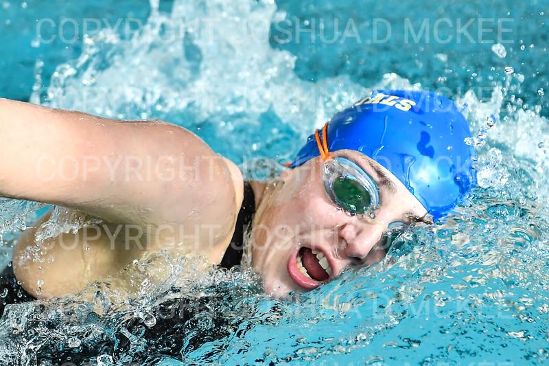 12/1/18 11:53:29 AM Swimming and Diving:  Hamilton College Invitational at Bristol Pool, Hamilton College, Clinton, NY <br /> <br /> Photo by Josh McKee