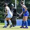 Hamilton College goalkeeper Julia Booth (9)<br /> <br /> 9/16/18 12:10:53 PM Women's Field Hockey:  #1 Middlebury College vs #16 Hamilton College, at Goodfriend Field, Hamilton College, Clinton, NY<br /> <br /> Final: Middlebury 4  Hamilton 0<br /> <br /> Photo by Josh McKee