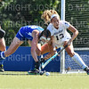 Hamilton College defender Sarah Kane (12)<br /> <br /> 9/16/18 12:10:56 PM Women's Field Hockey:  #1 Middlebury College vs #16 Hamilton College, at Goodfriend Field, Hamilton College, Clinton, NY<br /> <br /> Final: Middlebury 4  Hamilton 0<br /> <br /> Photo by Josh McKee