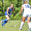 Hamilton College defender Sarah Kane (12)<br /> <br /> 9/16/18 1:14:42 PM Women's Field Hockey:  #1 Middlebury College vs #16 Hamilton College, at Goodfriend Field, Hamilton College, Clinton, NY<br /> <br /> Final: Middlebury 4  Hamilton 0<br /> <br /> Photo by Josh McKee