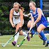 Hamilton College forward Maddie Beitler (23)<br /> <br /> 9/11/18 6:06:49 PM Women's Field Hockey:  Skidmore College vs #16 Hamilton College, at Goodfriend Field, Hamilton College, Clinton, NY<br /> <br /> Final: Skidmore 1  Hamilton 4<br /> <br /> Photo by Josh McKee