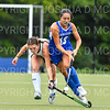 Hamilton College forward Sarah Stinebaugh (19)<br /> <br /> 9/11/18 5:41:05 PM Women's Field Hockey:  Skidmore College vs #16 Hamilton College, at Goodfriend Field, Hamilton College, Clinton, NY<br /> <br /> Final: Skidmore 1  Hamilton 4<br /> <br /> Photo by Josh McKee