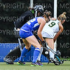 Hamilton College goalkeeper Julia Booth (9)<br /> <br /> 9/11/18 6:51:12 PM Women's Field Hockey:  Skidmore College vs #16 Hamilton College, at Goodfriend Field, Hamilton College, Clinton, NY<br /> <br /> Final: Skidmore 1  Hamilton 4<br /> <br /> Photo by Josh McKee
