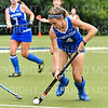 Hamilton College forward Sarah Pierpont (4)<br /> <br /> 9/11/18 6:05:38 PM Women's Field Hockey:  Skidmore College vs #16 Hamilton College, at Goodfriend Field, Hamilton College, Clinton, NY<br /> <br /> Final: Skidmore 1  Hamilton 4<br /> <br /> Photo by Josh McKee