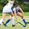 Hamilton College D/M Cat Donahue (22)<br /> <br /> 9/11/18 5:42:17 PM Women's Field Hockey:  Skidmore College vs #16 Hamilton College, at Goodfriend Field, Hamilton College, Clinton, NY<br /> <br /> Final: Skidmore 1  Hamilton 4<br /> <br /> Photo by Josh McKee