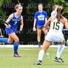 Hamilton College D/M Keeley Duran (3)<br /> <br /> 9/11/18 5:40:01 PM Women's Field Hockey:  Skidmore College vs #16 Hamilton College, at Goodfriend Field, Hamilton College, Clinton, NY<br /> <br /> Final: Skidmore 1  Hamilton 4<br /> <br /> Photo by Josh McKee