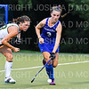 Hamilton College D/M Keeley Duran (3)<br /> <br /> 9/11/18 6:59:39 PM Women's Field Hockey:  Skidmore College vs #16 Hamilton College, at Goodfriend Field, Hamilton College, Clinton, NY<br /> <br /> Final: Skidmore 1  Hamilton 4<br /> <br /> Photo by Josh McKee
