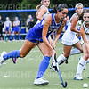 Hamilton College forward Sarah Stinebaugh (19)<br /> <br /> 9/11/18 6:41:10 PM Women's Field Hockey:  Skidmore College vs #16 Hamilton College, at Goodfriend Field, Hamilton College, Clinton, NY<br /> <br /> Final: Skidmore 1  Hamilton 4<br /> <br /> Photo by Josh McKee