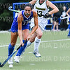 Hamilton College forward Sarah Stinebaugh (19)<br /> <br /> 9/11/18 6:41:09 PM Women's Field Hockey:  Skidmore College vs #16 Hamilton College, at Goodfriend Field, Hamilton College, Clinton, NY<br /> <br /> Final: Skidmore 1  Hamilton 4<br /> <br /> Photo by Josh McKee
