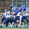 Hamilton College defensive tackle William Rothschild (75), Hamilton College defensive end James Ball (90)<br /> <br /> 11/3/18 12:45:41 PM Football--Old Rocking Chair Classic: Middlebury College vs Hamilton College, at Steuben Field, Hamilton College, Clinton, NY<br /> <br /> Final:  Middlebury 35   Hamilton 17 <br /> <br /> Photo by Josh McKee