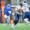 Hamilton College linebacker Sean Tolton (1)<br /> <br /> 11/3/18 12:39:49 PM Football--Old Rocking Chair Classic: Middlebury College vs Hamilton College, at Steuben Field, Hamilton College, Clinton, NY<br /> <br /> Final:  Middlebury 35   Hamilton 17 <br /> <br /> Photo by Josh McKee