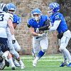 Hamilton College fullback David Kagan (30)<br /> <br /> 11/3/18 12:35:56 PM Football--Old Rocking Chair Classic: Middlebury College vs Hamilton College, at Steuben Field, Hamilton College, Clinton, NY<br /> <br /> Final:  Middlebury 35   Hamilton 17 <br /> <br /> Photo by Josh McKee