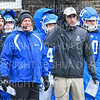 Hamilton College head coach Dave Murray, Hamilton College Assistant Coach<br /> <br /> 11/3/18 12:37:42 PM Football--Old Rocking Chair Classic: Middlebury College vs Hamilton College, at Steuben Field, Hamilton College, Clinton, NY<br /> <br /> Final:  Middlebury 35   Hamilton 17 <br /> <br /> Photo by Josh McKee