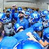 Hamilton College Assistant Coach, Team, Locker Room<br /> <br /> 10/6/18 12:53:28 PM Football:  Trinity College v Hamilton College at Steuben Field, Hamilton College, Clinton, NY<br /> <br /> Photo by Josh McKee