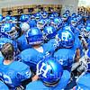 Team, Locker Room<br /> <br /> 10/6/18 12:53:50 PM Football:  Trinity College v Hamilton College at Steuben Field, Hamilton College, Clinton, NY<br /> <br /> Photo by Josh McKee
