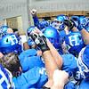Team, Locker Room<br /> <br /> 10/6/18 12:54:02 PM Football:  Trinity College v Hamilton College at Steuben Field, Hamilton College, Clinton, NY<br /> <br /> Photo by Josh McKee