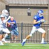 Hamilton College wide receiver Will Budington (18)<br /> <br /> 9/15/18 1:48:29 PM Football:  Tufts University v Hamilton College at Steuben Field, Hamilton College, Clinton, NY<br /> <br /> Final:  Tufts 29  Hamilton 2<br /> <br /> Photo by Josh McKee