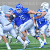 Hamilton College defensive tackle William Rothschild (75)<br /> <br /> 9/15/18 1:58:55 PM Football:  Tufts University v Hamilton College at Steuben Field, Hamilton College, Clinton, NY<br /> <br /> Final:  Tufts 29  Hamilton 2<br /> <br /> Photo by Josh McKee