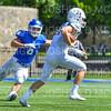Hamilton College linebacker Cole Burchill (6)<br /> <br /> 9/15/18 1:08:38 PM Football:  Tufts University v Hamilton College at Steuben Field, Hamilton College, Clinton, NY<br /> <br /> Final:  Tufts 29  Hamilton 2<br /> <br /> Photo by Josh McKee
