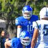 Hamilton College quarterback Sam Foley (10)<br /> <br /> 9/15/18 3:19:35 PM Football:  Tufts University v Hamilton College at Steuben Field, Hamilton College, Clinton, NY<br /> <br /> Final:  Tufts 29  Hamilton 2<br /> <br /> Photo by Josh McKee