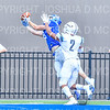 Hamilton College wide receiver Will Budington (18)<br /> <br /> 9/15/18 2:40:46 PM Football:  Tufts University v Hamilton College at Steuben Field, Hamilton College, Clinton, NY<br /> <br /> Final:  Tufts 29  Hamilton 2<br /> <br /> Photo by Josh McKee