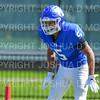Hamilton College defensive back Justin Leigh (5)<br /> <br /> 9/15/18 1:22:46 PM Football:  Tufts University v Hamilton College at Steuben Field, Hamilton College, Clinton, NY<br /> <br /> Final:  Tufts 29  Hamilton 2<br /> <br /> Photo by Josh McKee