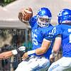 Hamilton College quarterback Kenny Gray (15)<br /> <br /> 9/15/18 1:38:04 PM Football:  Tufts University v Hamilton College at Steuben Field, Hamilton College, Clinton, NY<br /> <br /> Final:  Tufts 29  Hamilton 2<br /> <br /> Photo by Josh McKee