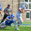 Hamilton College linebacker Cole Burchill (6)<br /> <br /> 9/15/18 1:03:24 PM Football:  Tufts University v Hamilton College at Steuben Field, Hamilton College, Clinton, NY<br /> <br /> Final:  Tufts 29  Hamilton 2<br /> <br /> Photo by Josh McKee