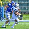 Hamilton College defensive end Alex Ganter (17)<br /> <br /> 9/15/18 1:32:09 PM Football:  Tufts University v Hamilton College at Steuben Field, Hamilton College, Clinton, NY<br /> <br /> Final:  Tufts 29  Hamilton 2<br /> <br /> Photo by Josh McKee