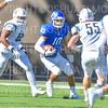 Hamilton College quarterback Sam Foley (10)<br /> <br /> 9/15/18 3:20:42 PM Football:  Tufts University v Hamilton College at Steuben Field, Hamilton College, Clinton, NY<br /> <br /> Final:  Tufts 29  Hamilton 2<br /> <br /> Photo by Josh McKee