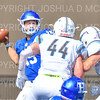 Hamilton College quarterback Kenny Gray (15)<br /> <br /> 9/15/18 1:55:57 PM Football:  Tufts University v Hamilton College at Steuben Field, Hamilton College, Clinton, NY<br /> <br /> Final:  Tufts 29  Hamilton 2<br /> <br /> Photo by Josh McKee