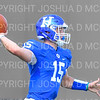 Hamilton College quarterback Kenny Gray (15)<br /> <br /> 9/15/18 2:03:24 PM Football:  Tufts University v Hamilton College at Steuben Field, Hamilton College, Clinton, NY<br /> <br /> Final:  Tufts 29  Hamilton 2<br /> <br /> Photo by Josh McKee